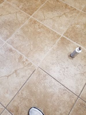 Before & After Grout Coloring in San Antonio, TX (2)