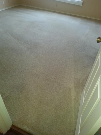 After Carpet Cleaning & Stretching in San Antonio, TX