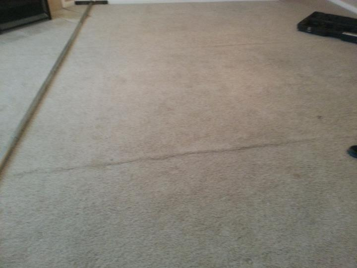 Before Carpet Cleaning in Cibolo, TX