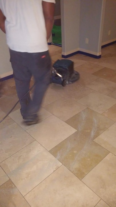 Travertine Wax Removal in Stone Oak, TX