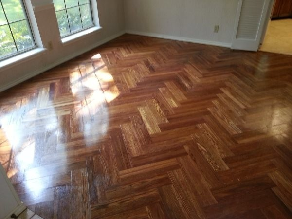 Sandless Wood Restoration in Schertz, TX