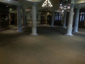 Commercial Carpet Cleaning at the Dominion Country Club House